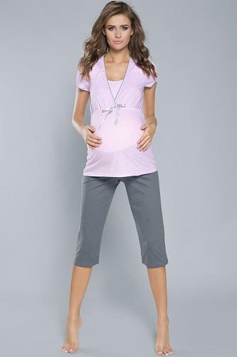 pizama_do_karmienia_krotki_rekaw_spodnie_3_4_felicita_pink